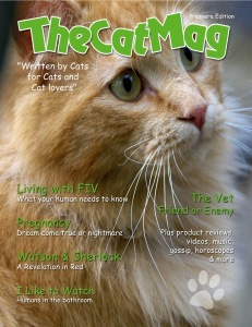 The Cat Mag Magazine cover