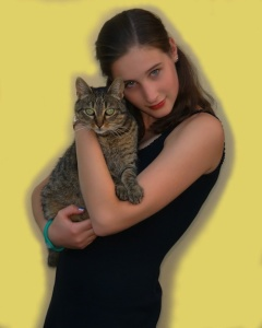 The Cat Mag - Young Woman with Cat