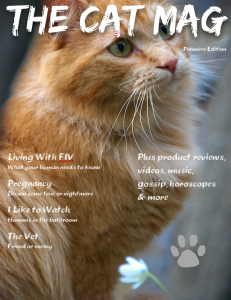 The Cat Mag Premiere Edition Cover